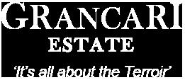 Grancari Estate Terroir Winery | Onkaparinga Hills Reynella Morphett Vale Christies Beach Glenelg Noarlunga Fleurieu Wine | Grenache Shiraz Rose Port Specials | Certified Organic Single Vineyard Premium Red Wines | Onkaparinga Hills | South Australia Winery Logo